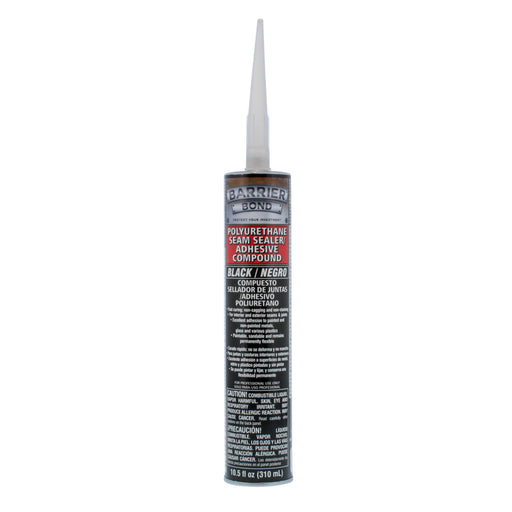Black Polyurethane Seam Sealer Adhesive Compound - 10.5 fl. Ounce Tube