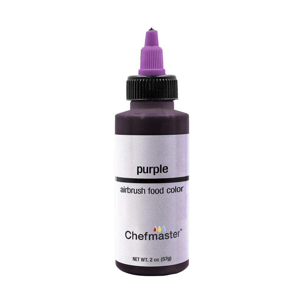 Purple, Airbrush Cake Food Coloring, 2 fl oz.