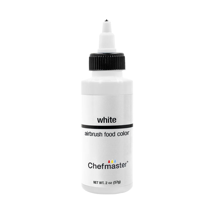 White, Airbrush Cake Food Coloring, 2 fl oz.