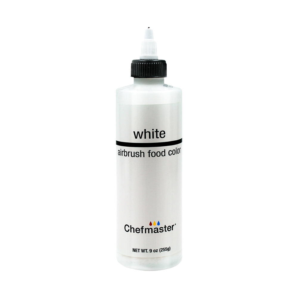 White, Airbrush Cake Food Coloring, 9 fl oz.