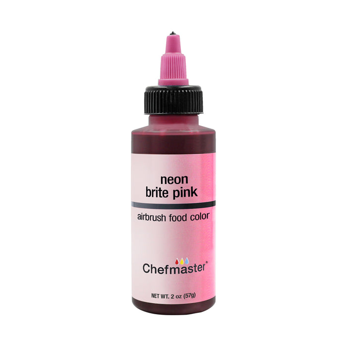 Neon Brite Pink, Airbrush Cake Food Coloring, 2 oz.