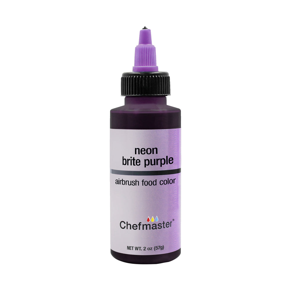 Neon Brite Purple, Airbrush Cake Food Coloring, 2 oz.