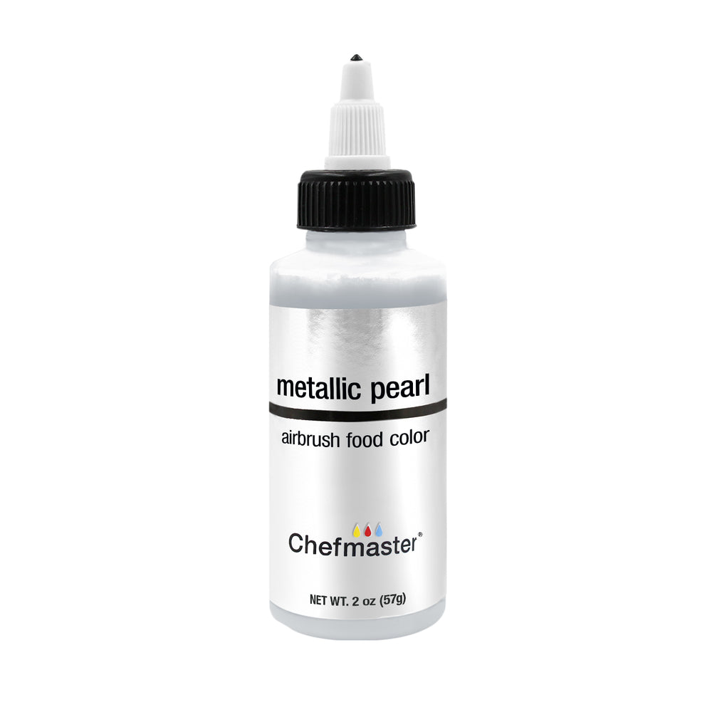 Metallic Pearl, Airbrush Cake Food Coloring, 2 fl oz.