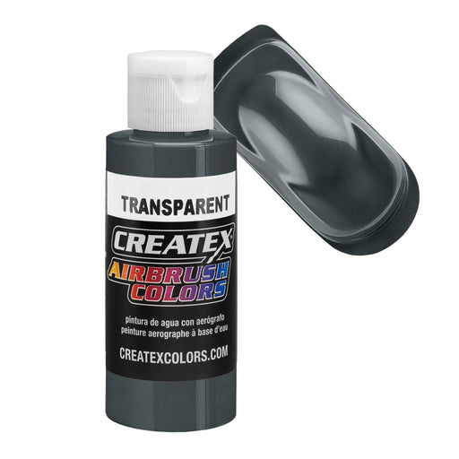 Medium Gray - Transparent Airbrush Paint, 2 oz.