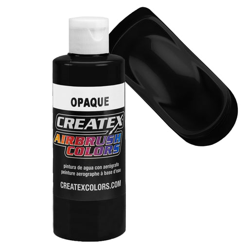 Black - Opaque Airbrush Paint, 4 oz.