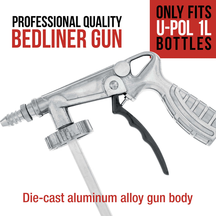 Professional Quality Bedliner Application Gun with Regulator