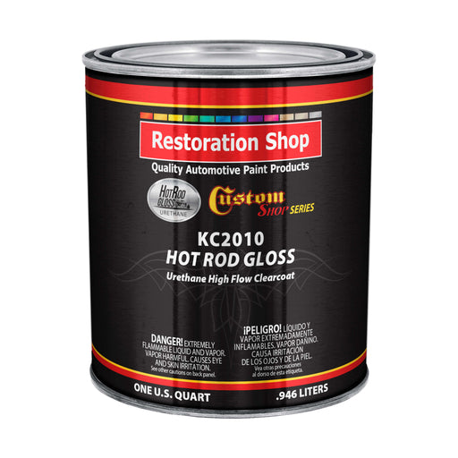 Hot Rod Gloss Urethane High Flow Clearcoat - Quart