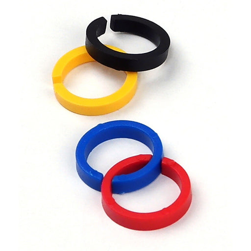 Color ID Ring Kit (4 Colors) for TEKNA Spray Guns
