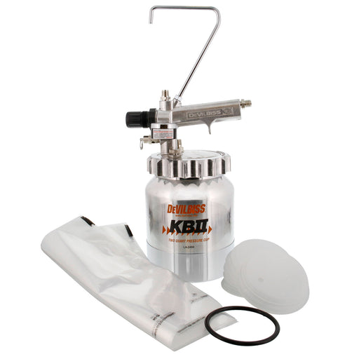 Kb II 2 Quart Paint Pressure Cup Pot Aluminum (120033)