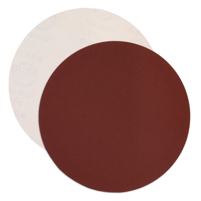 "Dura-Gold Premium 12"" PSA Sanding Discs - 240 Grit (Box of 5) - Sandpaper Discs with Self Adhesive, Fast Cutting Aluminum Oxide, Drywall, Floor, Wood"