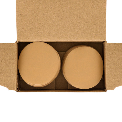 "800 Grit - 2"" Gold Hook & Loop Sanding Discs for DA Sanders - Box of 40"
