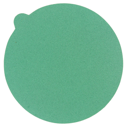 "100 Grit - 5"" Green Film - PSA Self Adhesive Stickyback Sanding Discs for DA Sanders - Box of 50"