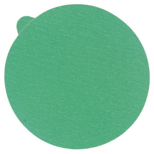 "150 Grit - 5"" Green Film - PSA Self Adhesive Stickyback Sanding Discs for DA Sanders - Box of 50"