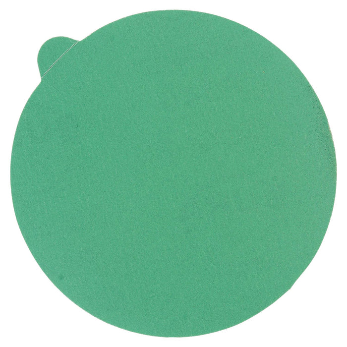 "240 Grit - 5"" Green Film - PSA Self Adhesive Stickyback Sanding Discs for DA Sanders - Box of 50"