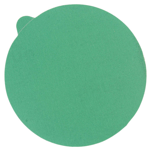 "280 Grit - 5"" Green Film - PSA Self Adhesive Stickyback Sanding Discs for DA Sanders - Box of 50"