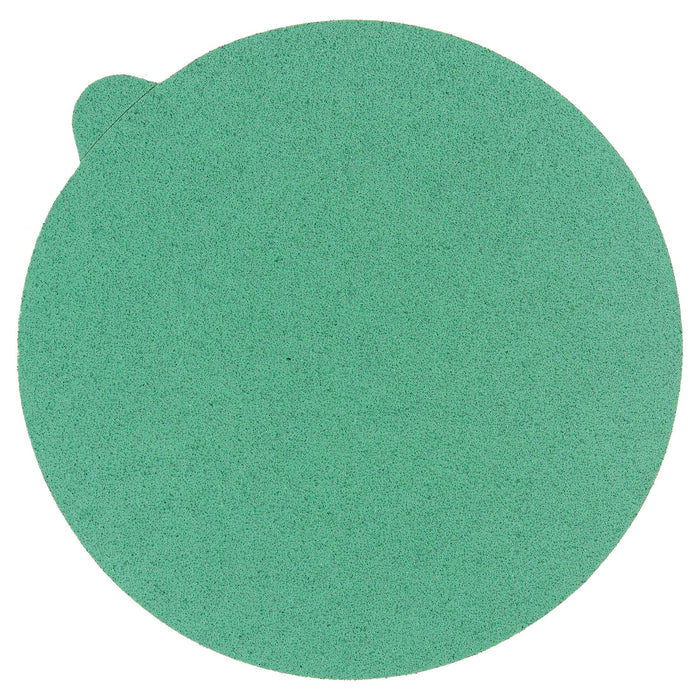 "60 Grit - 5"" Green Film - PSA Self Adhesive Stickyback Sanding Discs for DA Sanders - Box of 50"