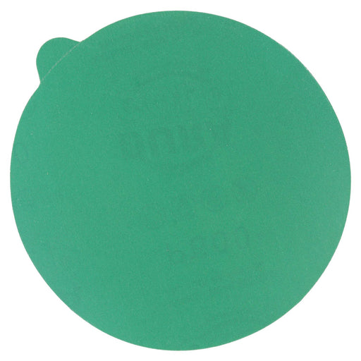 "600 Grit - 5"" Green Film - PSA Self Adhesive Stickyback Sanding Discs for DA Sanders - Box of 50"
