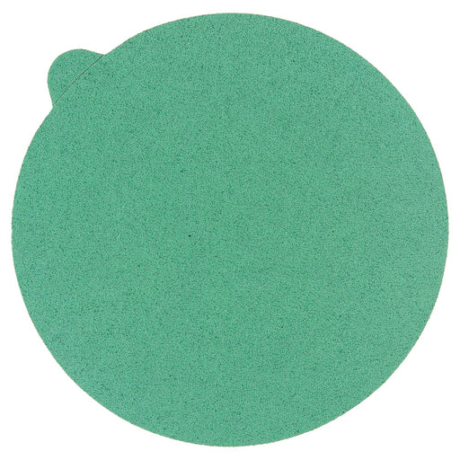 "80 Grit - 5"" Green Film - PSA Self Adhesive Stickyback Sanding Discs for DA Sanders - Box of 50"