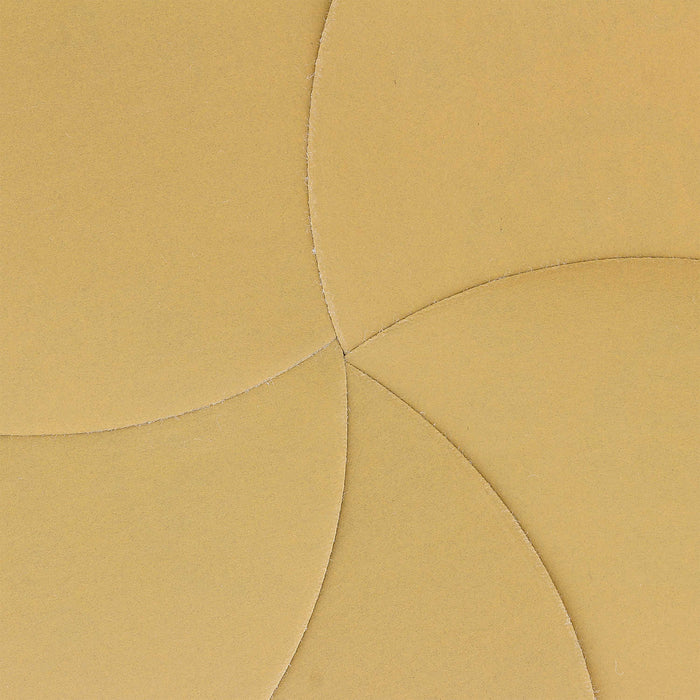 "1000 Grit - 6"" Gold Hook & Loop No Hole Pattern Sanding Discs for DA Sanders - Box of 24"