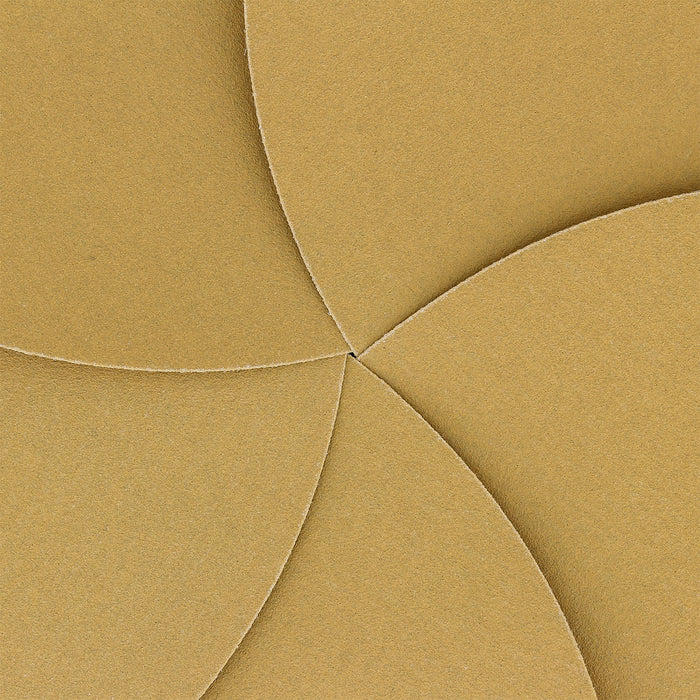 "220 Grit - 8"" Gold PSA Self Adhesive Stickyback Sanding Discs for DA Sanders - Box of 10"