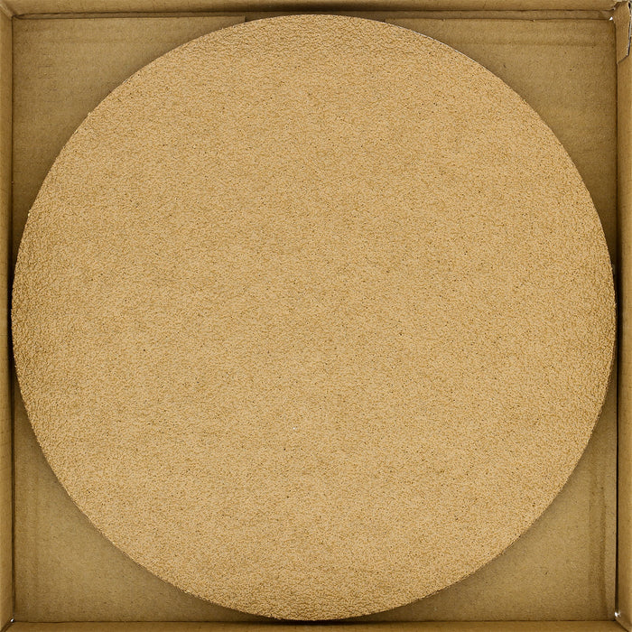 "Variety Grit Pack - (40,80,120,220,320) - 8"" Gold PSA Self Adhesive Stickyback Sanding Discs for DA Sanders - Box of 10"