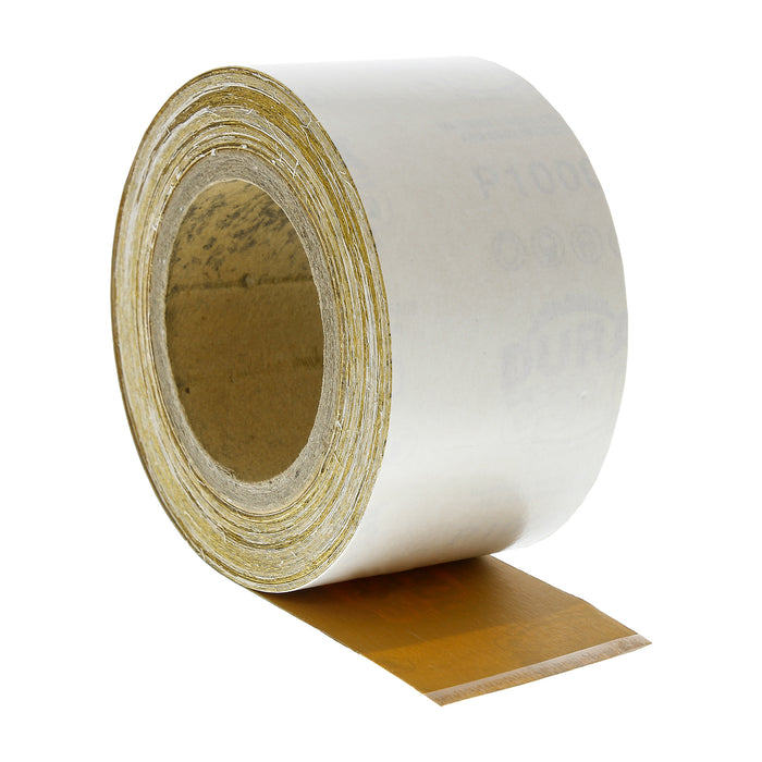 "1000 Grit Gold - Longboard Continuous Roll PSA Stickyback Self Adhesive Sandpaper 20 Yards Long by 2-3/4"" Wide"