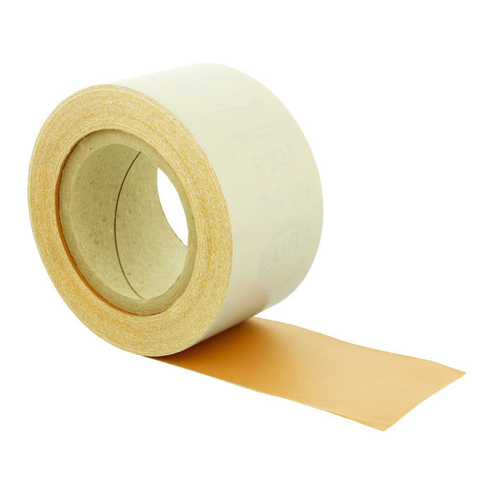 "320 Grit Gold - Longboard Continuous Roll PSA Stickyback Self Adhesive Sandpaper 20 Yards Long by 2-3/4"" Wide"