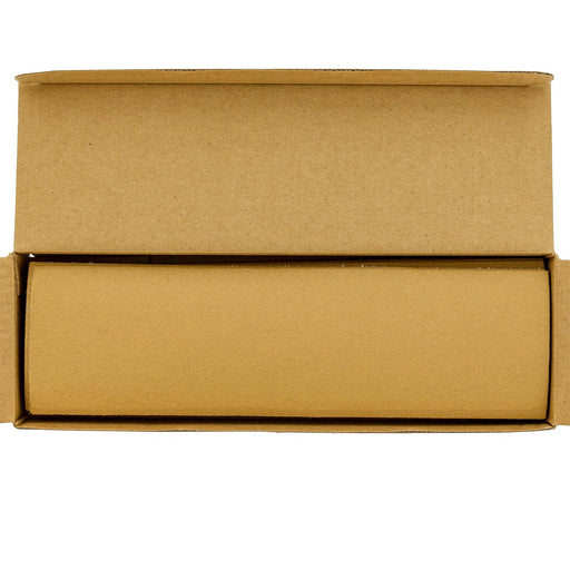 "120 Grit - Gold - Hand Sanding Sandpaper Sheets Hook & Loop 9"" x 2-2/3"" - Box of 25"