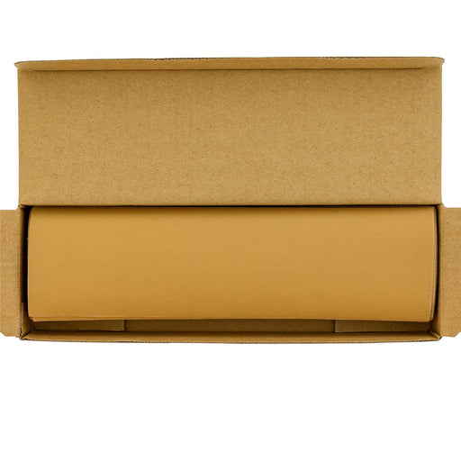 "320 Grit - Gold - Hand Sanding Sandpaper Sheets Hook & Loop 9"" x 2-2/3"" - Box of 25"