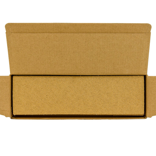 "60 Grit - Gold - Hand Sanding Sandpaper Sheets Hook & Loop 9"" x 2-2/3"" - Box of 20"
