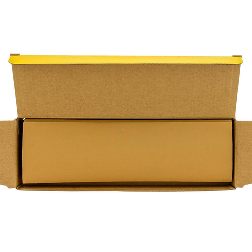 "Dura-Gold - Premium - 600 Grit Gold - Jitterbug Hook & Loop Sandpaper 9"" x 2-2/3"" for Automotive & Woodworking - Box of 25"