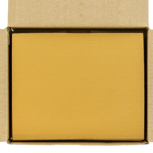 "Dura-Gold - Premium - 1000 Grit Gold - 1/4 Sheet Hook & Loop Sandpaper 5.5"" x 4.5"" - For Automotive & Wookworking Palm Sanders - Box of 25"