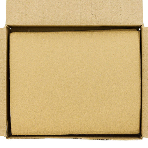 "120 Grit - 1/4 Sheet Hook & Loop Sandpaper 5.5"" x 4.5"" - For Automotive & Wookworking Palm Sanders - Box of 25"