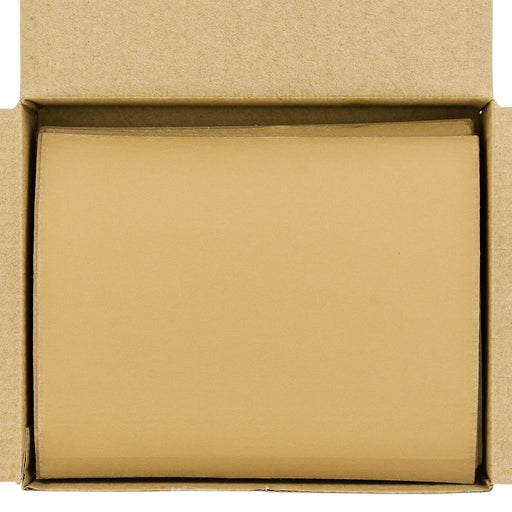 "400 Grit - 1/4 Sheet Hook & Loop Sandpaper 5.5"" x 4.5"" - For Automotive & Wookworking Palm Sanders - Box of 25"