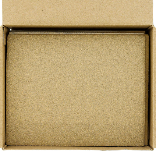 "Variety Grit Pack - (80,120,150,220,240,320,400,600,800,1000) - 1/4 Sheet Hook & Loop Sandpaper 5.5"" x 4.5"" - Box of 50"