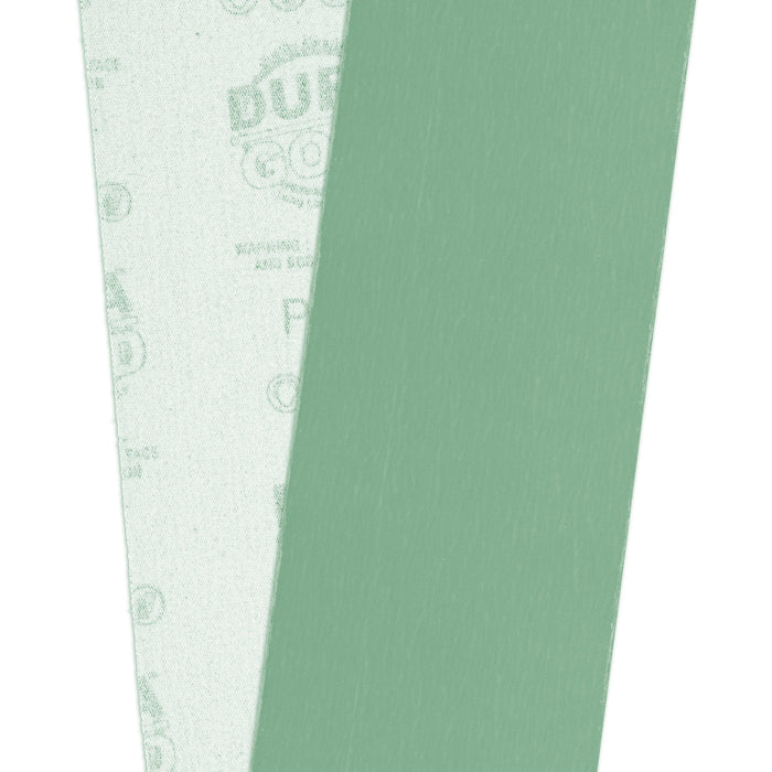 "Dura-Gold Premium 1500 Grit Green Film Longboard Continuous Sandpaper Roll, 2-3/4"" Wide, 12 Yards Long, Hook & Loop Backing - Detailing, Color Sanding"
