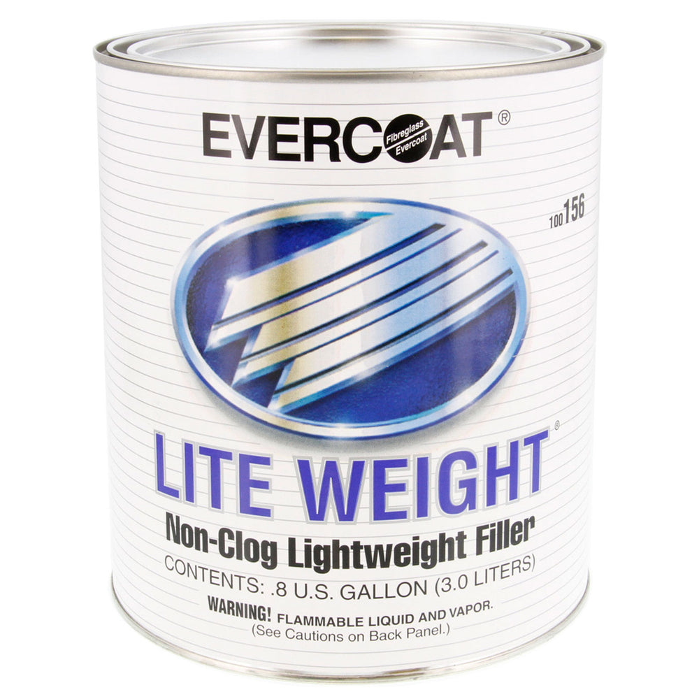 Lite Weight - High-Quality Non-Clog Lightweight Body Filler, 1 Quart