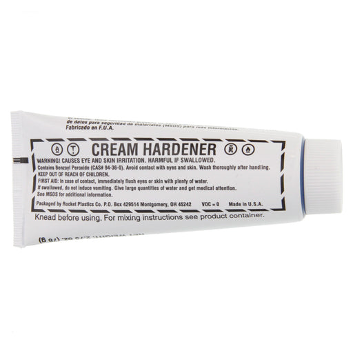 White Cream Hardener, 4 oz. tube