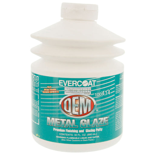 Metal Glaze OEM Premium Finishing Putty, 30 oz Pump