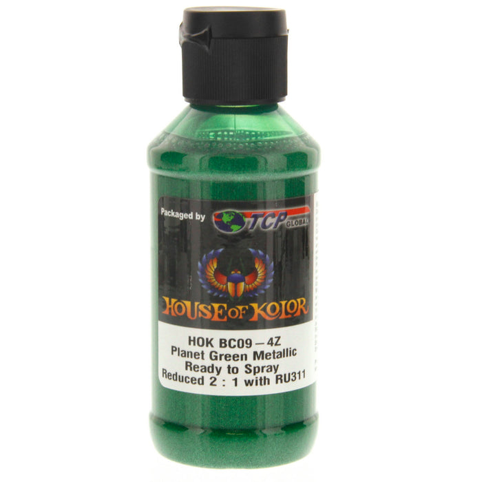 Planet Green - Shimrin2 (2nd Gen) Glamour Metallic Basecoat, 4 oz (Ready-to-Spray)