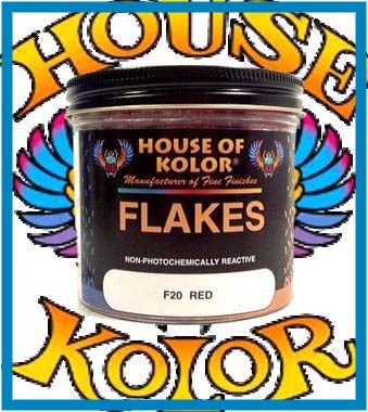 Red Flake - Shimrin (1st gen) Dry Flake, 6 oz. Jar