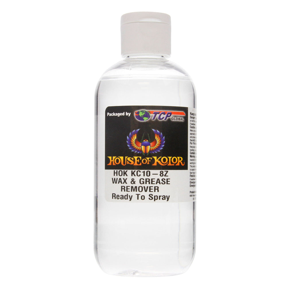 8 ounce Wax & Grease Remover Kc10/Kc-10 House of Kolor House of Kolor