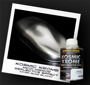 Aluminum Effect - Shimrin (1st Gen) Kosmic Krome, 1/2 Pint House of Kolor