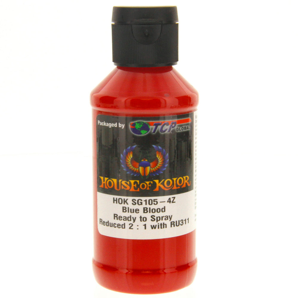 Blue Blood - Shimrin (1st Gen) Graphic Kolor Basecoat, 4 oz (Ready-to-Spray) House of Kolor