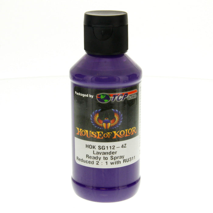Lavender - Shimrin (1st Gen) Graphic Kolor Basecoat, 4 oz (Ready-to-Spray) House of Kolor