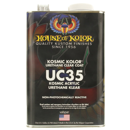 Kosmic Kolor Polyurethane Enamel Low VOC Clearcoat, 1 Gallon House of Kolor