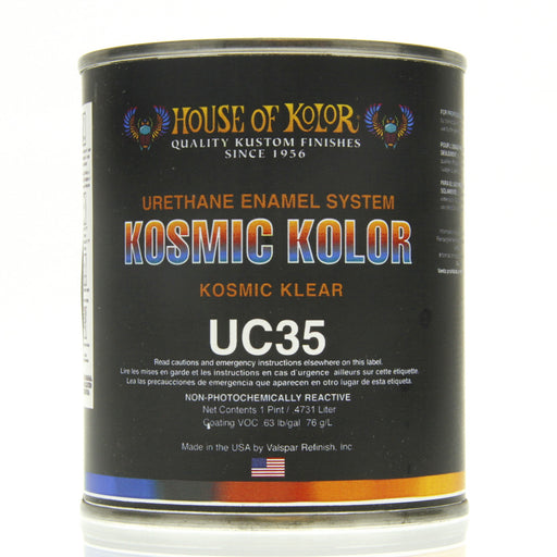 Kosmic Kolor Polyurethane Enamel Low VOC Clearcoat, 1 Pint House of Kolor
