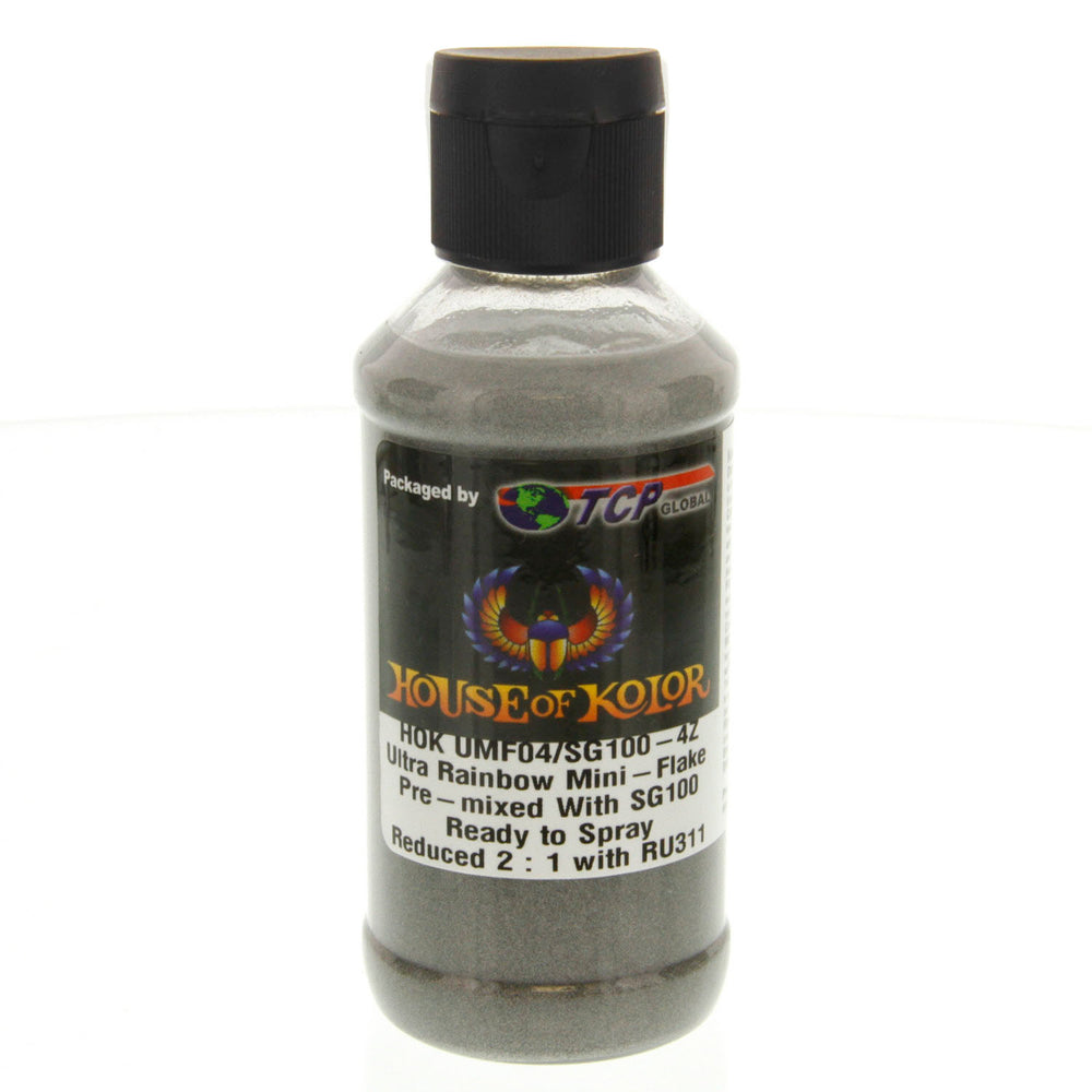 Ultra Rainbo Mini Flake - Shimrin (1st gen) Dry Ultra Mini Flake, 4 oz. (Ready-to-Spray)