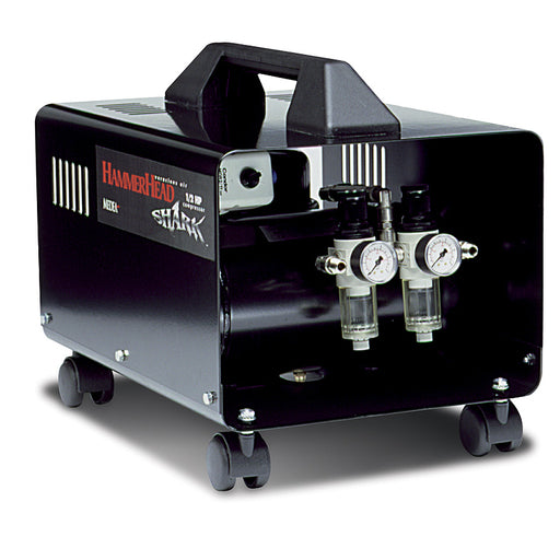 Hammerhead Shark - 1/2 Hp Filtered Air Compressor with Air Hose (Runs 2 Airbrushes)