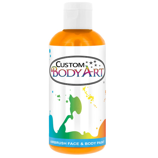 Yellow Airbrush Face & Body Water Based Paint for Kids, 8 oz.